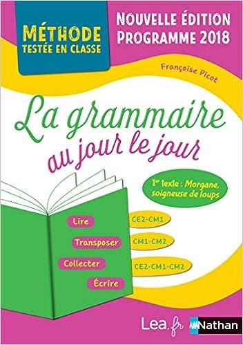 La Grammaire Au Jour Le Jour Morgane Soigneuse De Loups Methode Testee En Classe Ce2 Cm1 Cm French Edition Picot Francoise 9782091247267 Amazon Com Books