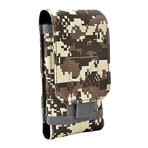 blendx neuf 6//étanche Poche tactique Taille Arm/ée Randonn/ée chasse T/él/éphone portable lampe de poche