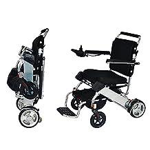 EasyFold Portable Power Wheelchair (Foldable & Lightweight), Standard Model