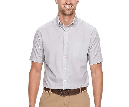 0e4e81f9175b Croft   Barrow Men s Classic-Fit Easy Care Button-Down Short Sleeve Shirt (