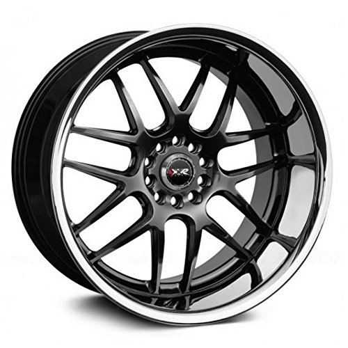(XXR Wheels 526 Chromium Black Wheel with Painted Finish and SS Chrome Lip (20 x 9. inches /5 x 114 mm, 13 mm Offset) )