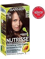 Garnier Nutrisse Ultra Coverage Hair Color, Deep Dark...