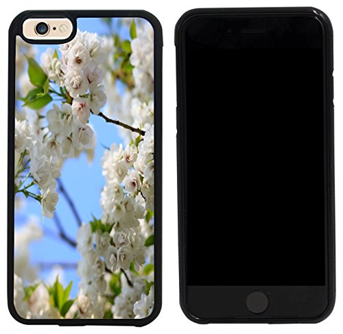 Cherry Tree Leaves - Rikki Knight Case Cover for iPhone 6/6s - Wild cherry Blossom Tree Leaves Design