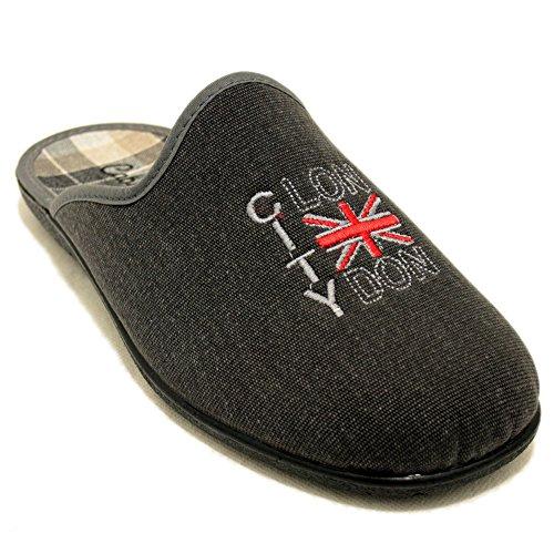Cabrera 9304 - Zapatillas tejanas London City Azul tejano
