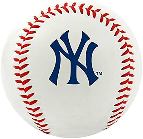 Logotipo do time MLB New York Yankees Beisebol, oficial, branco