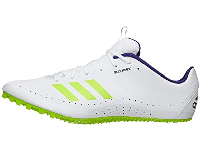 brand new c36bf 1842c adidas Running Unisex Sprintstar Footwear White Crystal White Real Purple  11.5 M US