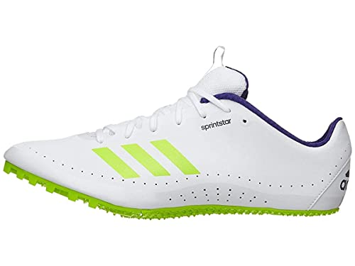 new concept 505c3 4f3d6 Adidas Sprintstar Cleat Men s Track Field 6 White-Crystal White-Purple