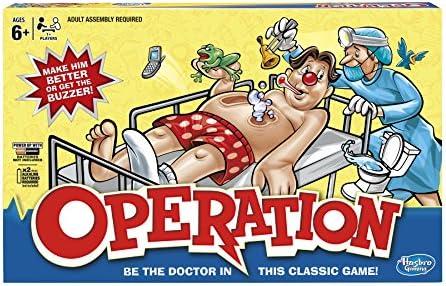 Hasbro Gaming Juego de Operación Clásico: Amazon.es: Juguetes y juegos