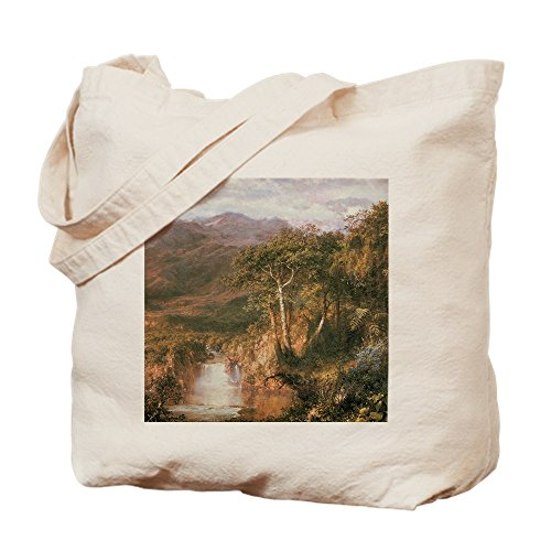 CafePress - Frederic Edwin Church Heart Of Andes - Natural Canvas Tote Bag, Cloth Shopping Bag by CafePress