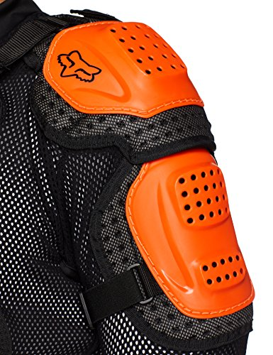 Fox Racing Titan Sport Jacket-Black/Orange-L by Fox Racing (Image #4)