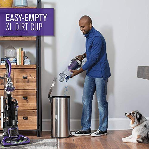 Dirt Devil Max XL Pet Vacuum with Suction, Purple