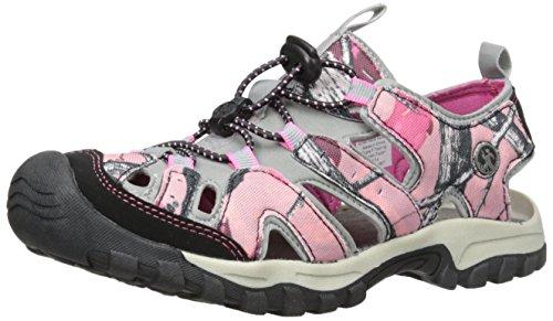 Northside Womens Burke II Sport Athletic Sandal Pink Camo