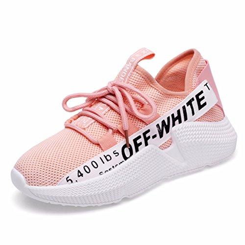 red Verano Deporte Zapatos Wild De Mujer Para Deportes Mujer verano Gtvernh Rosa Zapatillas FwRqpR0