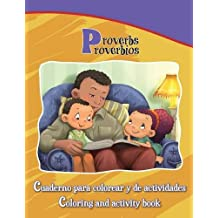 Proverbios, Proverbs: Coloring and Activity Book in English and Spanish (Bible Chapters for Kids) (Spanish Edition)