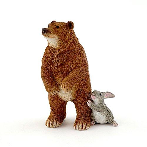 Elf Bear - Top Collection Miniature Garden Bear with Bunny