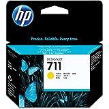 HP HEWCZ132A 711 Yellow Ink Cartridge, Yellow