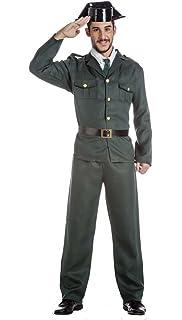 Atosa-54630 Disfraz Guardia Civil, Color Verde, XL (54630): Amazon ...