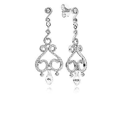 Pandora Women Silver Stud Earrings - 297088CZ  Amazon.co.uk  Jewellery e3db67e7538