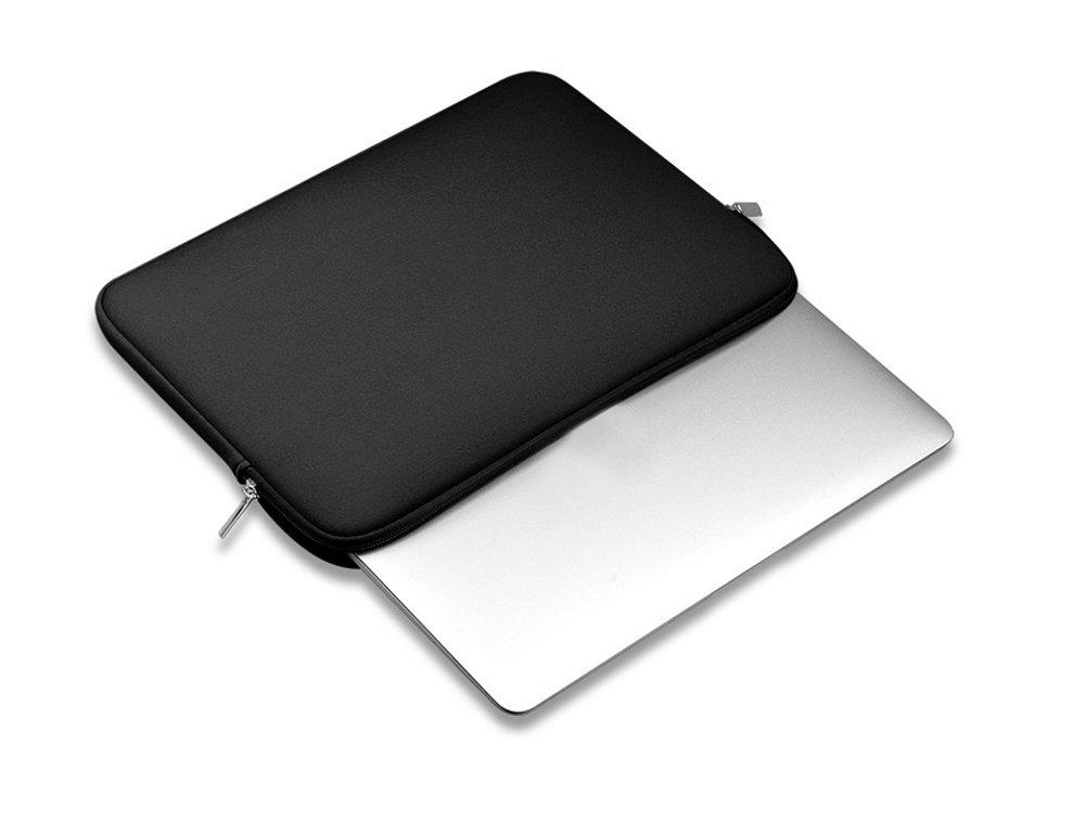 Hosaire 1X Mochilas para port/átiles Laptop Case Funda Protectora para Port/átiles//Impermeable Ordenador Port/átil Caso//Port/átil Bolsa Uso Diario o para Viajar Negro,15.6