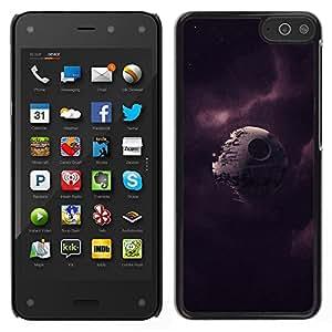LECELL--Funda protectora / Cubierta / Piel For Amazon Fire Phone -- Broken Estrella de la Muerte --