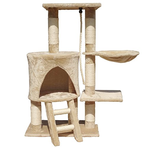FirstWell-Cat-Tree-Tower-Condo-Furniture-Scratching-Post-House-Small-Medium-Cats-Sizeby-Model-Option-Color-Option-Available