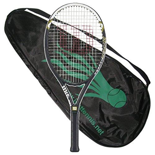 Wilson Hyper Hammer 5.3 Tennis Racquet - Strung With Cover (4-1/2)