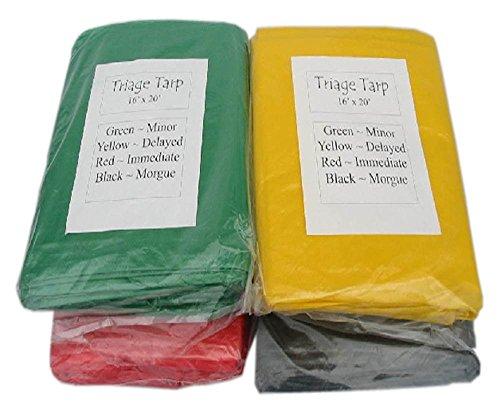 Triage Tarps - Set of 4