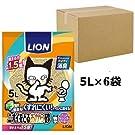 ニオイをとる砂 猫砂 ニオイをとるおから砂 5Lx6袋 (ケース販売)
