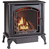 Duluth Forge Dual Fuel Vent Free Gas Stove - Model DF25SMS, TSTAT