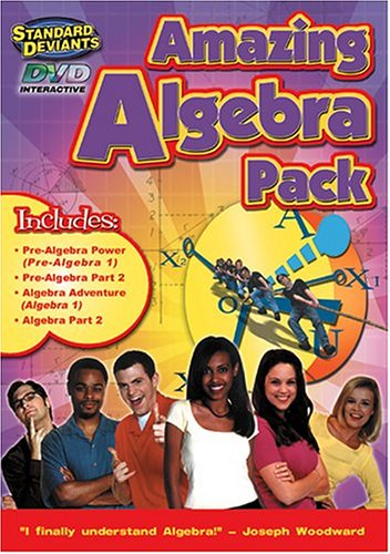 The Standard Deviants - Algebra/Pre-Algebra 4-Pack