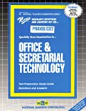Office and Secretarial Technology, Rudman, Jack, 0837384788