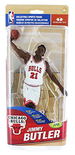 Chicago Bulls NBA Series 28 Figure Jimmy Butler (Bronze Level White Home Uniform Variant)