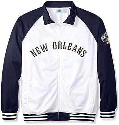 Tricot de la NBA hombres chaqueta de chándal - NBA406AM-PE -WHITE ...
