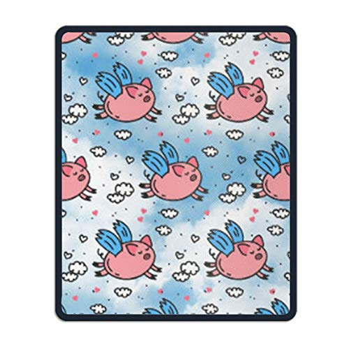 Flying Pig Non-Slip Rubber Mousepad Custom Gaming Mouse Pad -