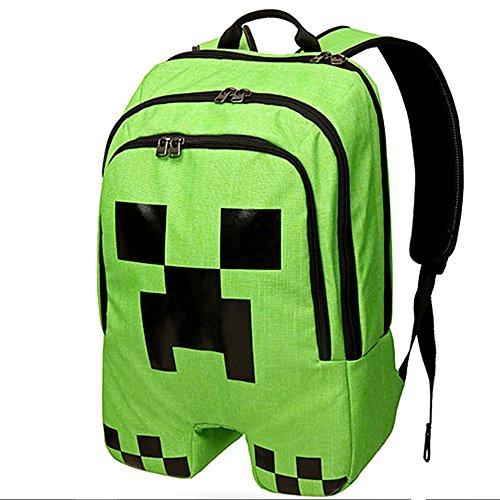 Christmas Deer MC Game Children Cartoon Schoolbag Pupils Shoulders Bag Kids Backpack (Style6)