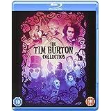 Tim Burton Collection - 8-Disc Box Set ( Batman / Batman Returns / Beetlejuice / Mars Attacks! / Pee-wee's Big Adventure / Charlie and the Chocolate Fact [ Blu-Ray, Reg.A/B/C Import - United Kingdom ]
