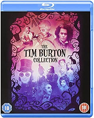 Tim Burton Collection Reino Unido Blu-ray Reino Unido: Amazon.es ...