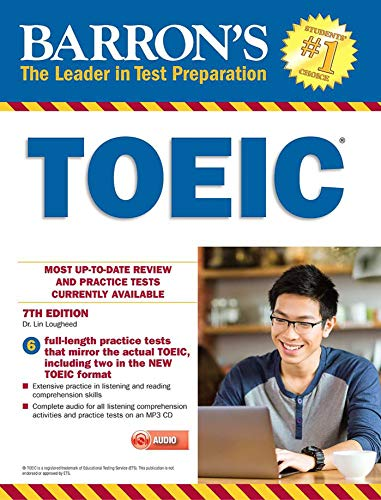 Barron's TOEIC with MP3 CD by Barron s Educational Series