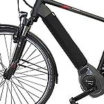 51YYIS 3QQL. SS150 Selle Italia - Sella Bici da Corsa Max FLITE E-Bike Gel Superflow, Rail Ti 316 Tubo Ø7, Sella Road Gran Turismo Fibra…