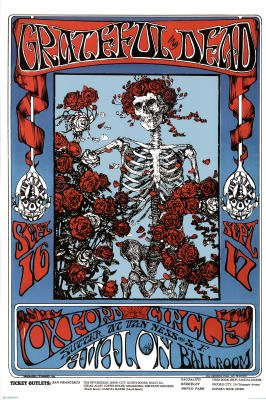 Family Dog Grateful Dead Music Poster Art Print