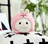Pinjewelry Home Decoration Soft Toys 30cm Fatty Plush Toy Stuffed Animal Fatty Doll Cute Toys Collection Birthday Gift for Kids (Pink)