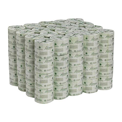Product of Georgia Pacific - Envision, Recycled Bath Tissue, 2-Ply, 550 Sheets - 80 Rolls - Toilet Paper [Bulk Savings]