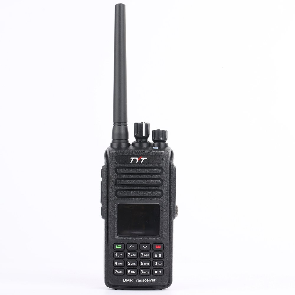TYT MD-UV390 Dual Band 136-174MHz 400-480MHz GPS Handheld Two Way Radio VHF UHF Ham Amateur