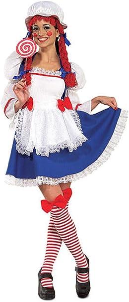 Rubies - Disfraz Oficial de Trapo para Mujer (Talla Mediana ...