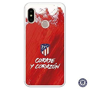 Atlético de Madrid Carcasa Coraje y Corazón para Xiaomi Mi ...