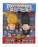 Defcon-Mania Global Toy Trump vs Kim Jong-un Collectible Troll Doll Set