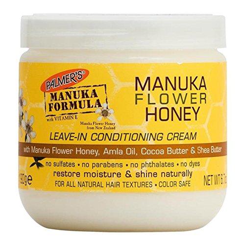 パーマーのマヌカ式マヌカの花の蜂蜜のリーブインコンディショニングクリーム190グラム x4 - Palmer's Manuka Formula Manuka Flower Honey Leave-In Conditioning Cream 190g (Pack of 4) [並行輸入品] B07255HMCW
