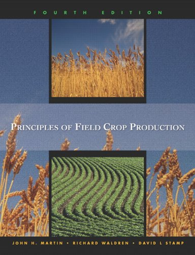 Principles Of Field Crop Production (4th Edition)
