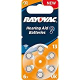 Rayovac Acoustic Special (0%Hg) Mercury Free Hearing Aid Batteries (6 Pack) - Size 13