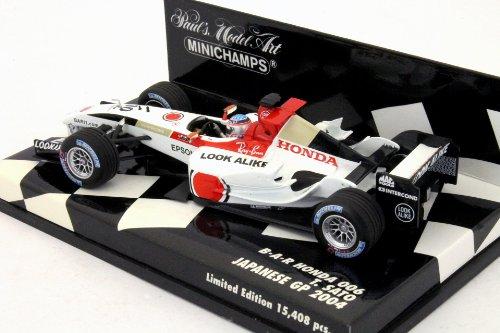 1/43 B・A・R ホンダ 006 JAPANESE GP 2004 LOOK ALIKE #10(ホワイト×レッド) 400040110